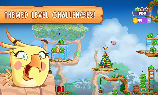 Angry Birds Slingshot Stella screenshot 5