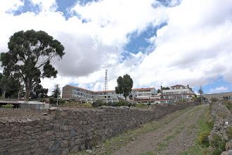 Photo: Hotel Taypikala Lago, south of Puno.