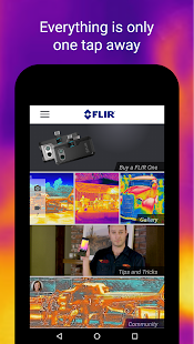 FLIR ONE- screenshot thumbnail