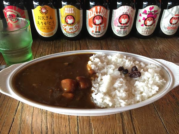 位子不多,是一間充滿濃濃日式風格的咖哩店。可選擇豬肉或是牛肉咖喱,湯/飯/小菜需額外加購。吃起來覺得還好,個人覺得嚐鮮即可。