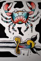 Perle planche tattoo
