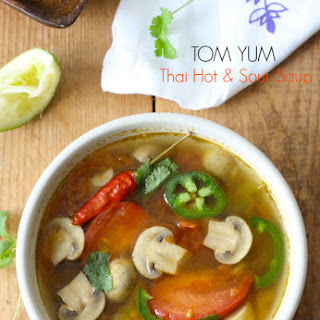 10-Minute Tom Yum Soup (Thai Hot & Sour Soup)