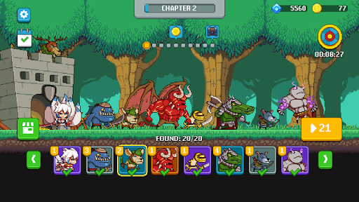 Monsters War: Epic TD Strategy Offline Games screenshot 5