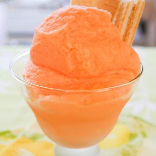 Homemade ORANGE Crush Ice Cream