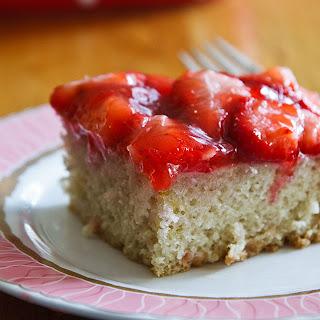 Strawberry Snack Cake.