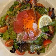 Seaweed Sashimi Salad