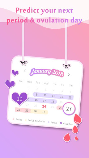 Period Tracker Pinky - Period & Ovulation Calendar for PC