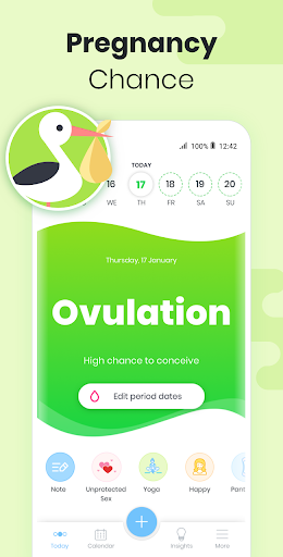 Period Tracker MIA Fem: Ovulation Calculator 1.41.2 screenshots 2
