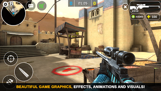 Counter Attack – Multiplayer FPS MOD (Unlimited Money) Full App+Data 5