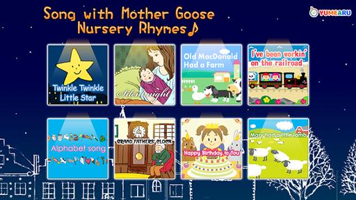 歌入り!英語の童謡えほん Mother Goose