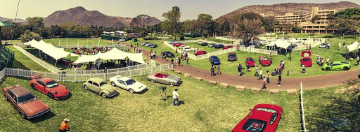 Some of the most iconic automobiles were presented on the lawns at Sun City in 2016. Picture: SA CONCOURS