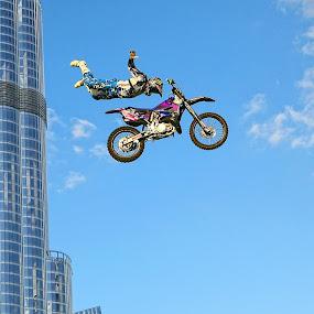 Moto-X by O J - Transportation Motorcycles ( motor cross, bike, dubai, uae, dare devil, stunt )