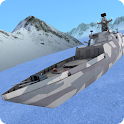 3D Navy Battle Warship icon