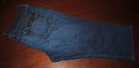Photo: Old Navy Maternity Capris. Low Rise. Stretch. No panel, just the waistband as shown. Size XL. Immaculate. $8