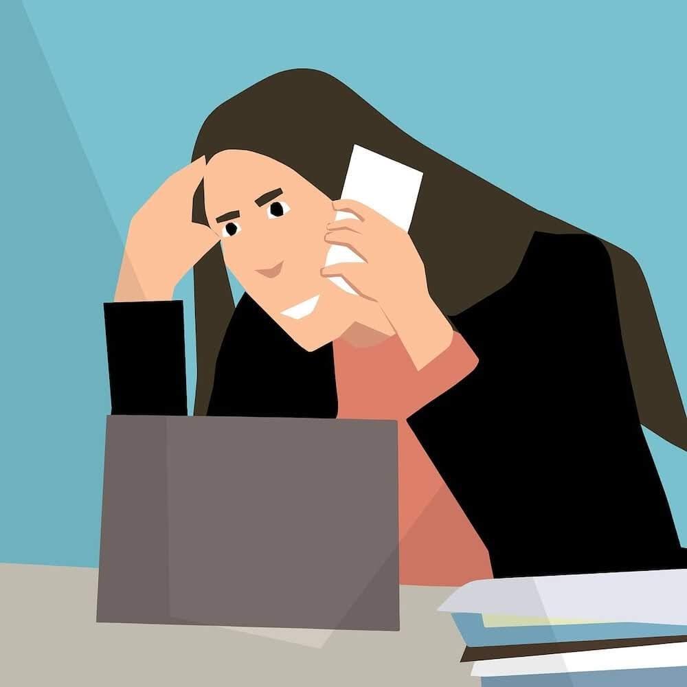 a woman agitated over phone.jpg