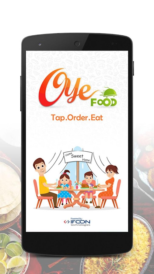 Oye Food - Food Ordering App- screenshot