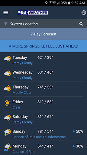 WRAL Weather  screenshots 6