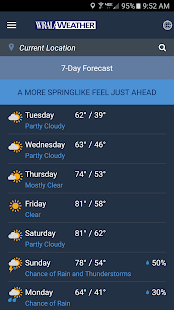 WRAL Weather APK image thumbnail 5
