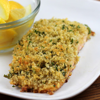 Baked Salmon With Bread Crumbs Recipes