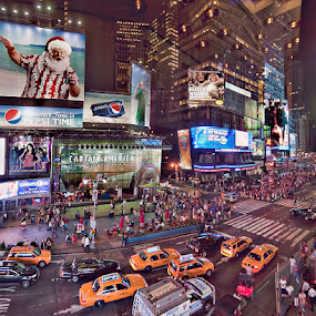 Times Square by Don Chamblee - Landscapes Travel