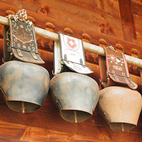 Swiss cowbells by Diane Dunn - Artistic Objects Other Objects