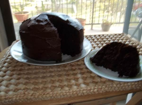 Chocolate Fudge Cake (sallye) Recipe