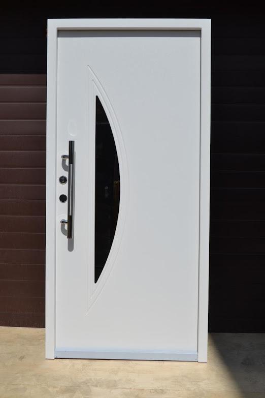 nr 2 wohnungst r haust ren mit glaseinsatz moderne t ren eingangst r haust r ebay. Black Bedroom Furniture Sets. Home Design Ideas