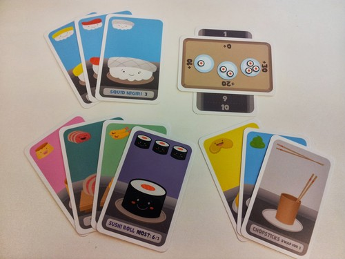 Review: Sushi Go! | The Opinionated Gamers image
