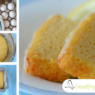 Gluten-Free Lemon Pound Cake with Maple Syrup, 3 Types of Coconut and No Dairy at All.