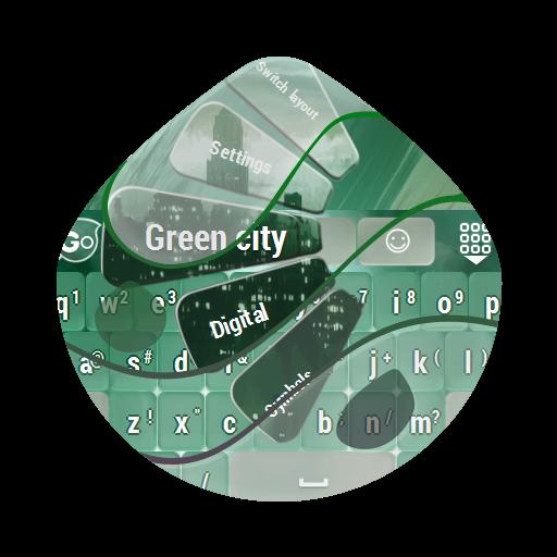 綠色城市Lǜsè chéngshì GO Keyboard 個人化 App LOGO-APP試玩