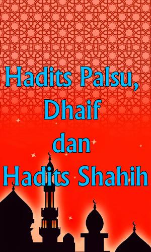 Download Hadits Palsu Dhaif Dan Shahih Apk Latest Version App By