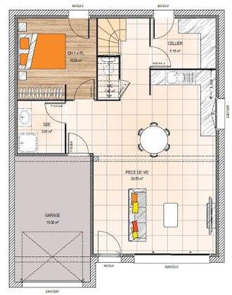 Vente maison 3 pièces 91 m2