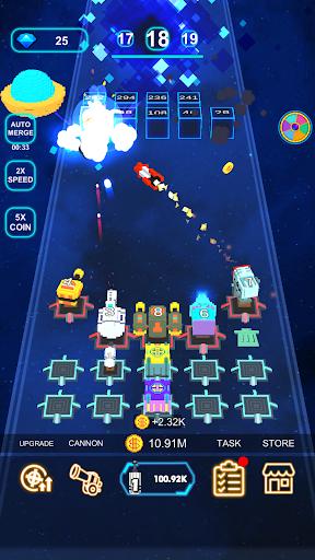 Cannon Defense-SciFi Idle apkmr screenshots 5