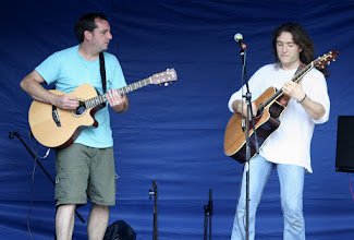 Photo: Benji Bartlett & Rob Miles © The Priston Festival 2009, photo: Richard Bottle