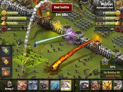 Throne Rush MOD Apk (Unlimited Money) 1