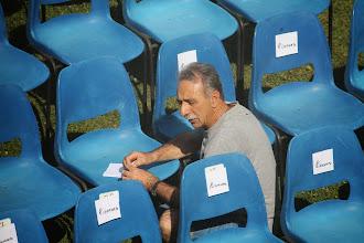 Photo: ultimi preparativi (assessore Maccario)