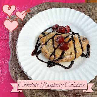 Chocolate Raspberry Calzones