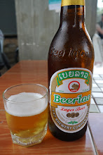 Photo: Most common beer in Laos - cheap and great during the hot days