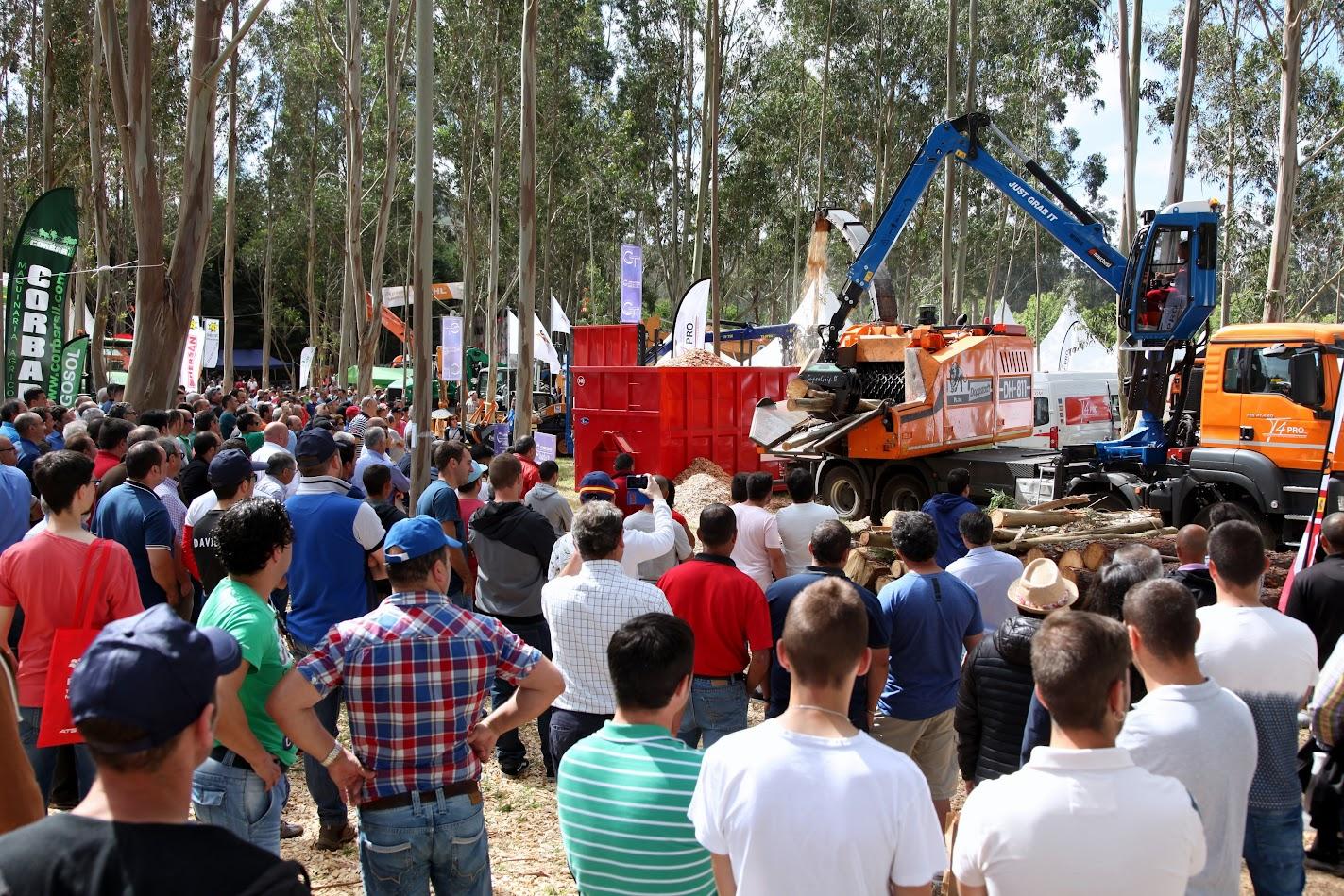 La feria forestal Galiforest Abanca cierra su mayor edición con una afluencia de 5.800 visitantes