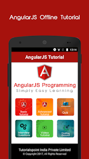 AngularJS Offline Tutorial- screenshot thumbnail