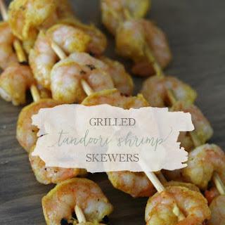 Grilled Tandoori Shrimp Skewers Recipe