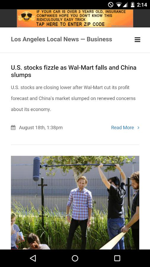 Los Angeles Local News- screenshot