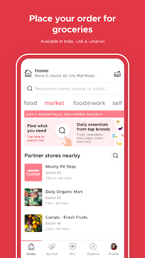 Zomato - Restaurant Finder and Food Delivery App screenshot 6