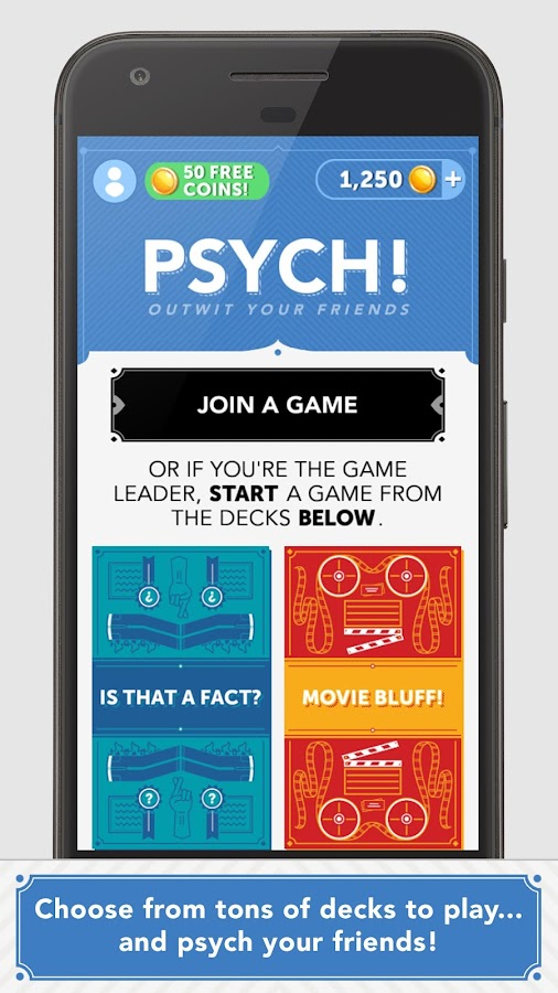 Psych! Outwit Your Friends- screenshot