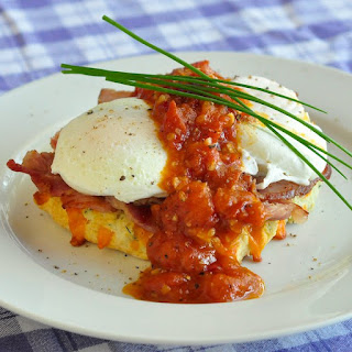 Cheddar Chive Biscuit Eggs Benedict