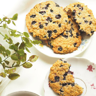 Blueberry Zucchini Breakfast Cookies