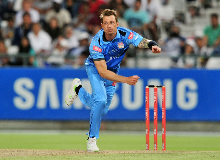 Dale Steyn of the Titans during the 2017 RamSlam T20 Challenge game between the Cobras and the Titans at Newlands Cricket Ground, Cape Town on 8 December 2017.