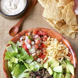Healthy 10 Minute Taco Salad