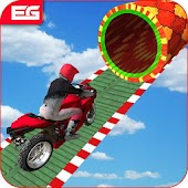 Moto Racer Bike : Impossible Track Stunt 3D Game