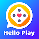 Hello Play- New People, Ludo & Carrom, Live Video